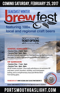 Seacoast Winter Brew Fest poster