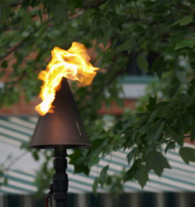 Portsmouth Deck Party Torch