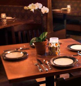 Portsmouth restaurant table
