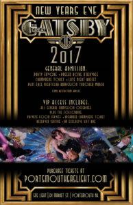 Gatsby NYE 2017 Poster